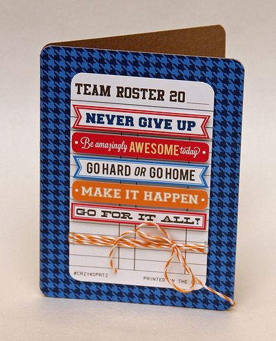 Go-team-card