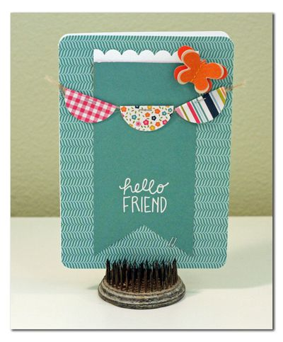 Pebbles-Hello-friend-Card