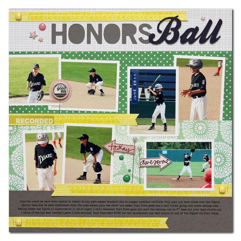 Honors-Ball