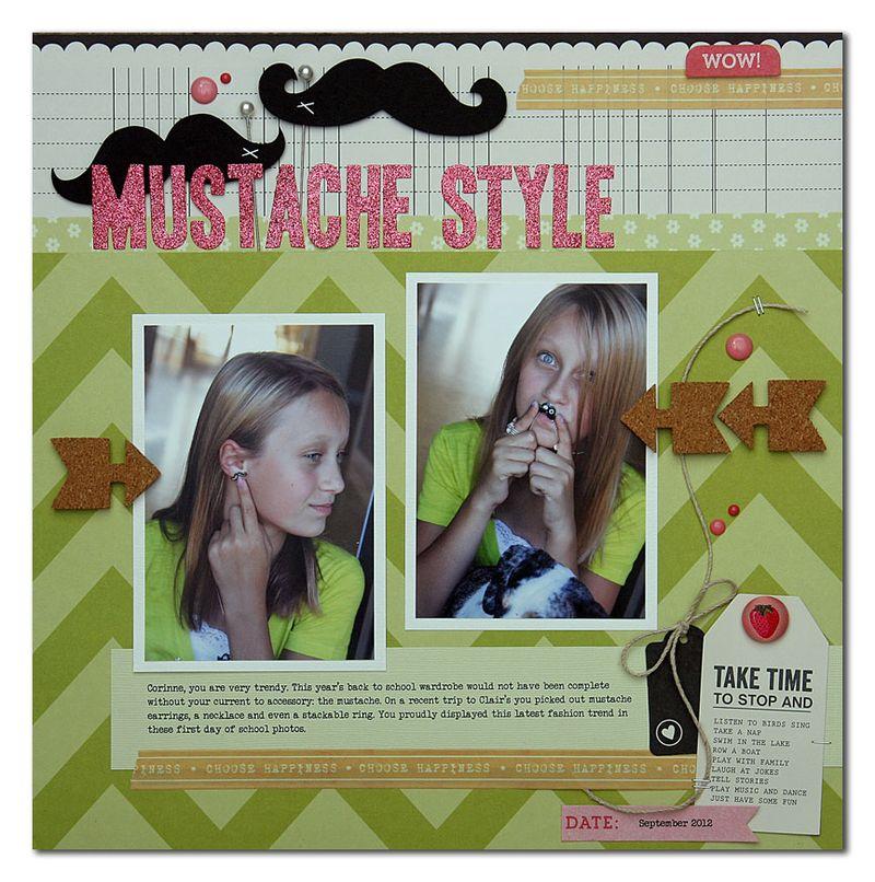 Mustache-style