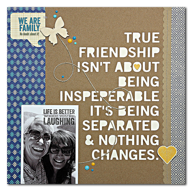 Friendship-layout